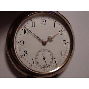 【FREE SHIPPING】Watch Men's Silver Pocket Watch Caliber ligiwc herren silber taschenuhr kaliber lep cal 52 iwc 19lig bj 1900 rar