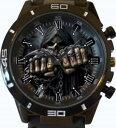 【送料無料】腕時計 ウォッチゴシックスカルスポーツベストセラーgothic fist skull gt series sports wrist watch fast uk seller