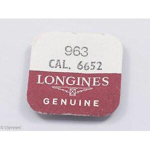 【شحن مجاني】 ساعة اليد لونجين جزء المادة الأصلية الجذعية 963 لل لونجين كال 6652