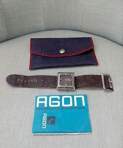 【送料無料】腕時計 ウォッチビンテージジーンズorologio agon vintage anni 70 jeans collezione