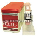 【送料無料】腕時計 ウォッチピンクスネークケーススキンウォッチrelic wrist watch pink snakeskin water resistant for women zr55117 wtin case