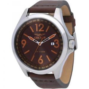腕時計, 男女兼用腕時計  orologio sector 180 solo tempo uomo marrone r3251180016