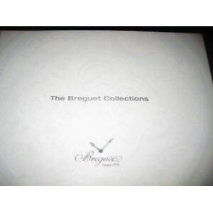 [Free Shipping] Wristwatch Watch Breguet collections booklet 200607