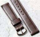 【送料無料】腕時計 ウォッチヴィンテージブラウンノルウェーカーフストラップshort length brown norwegian calf 173mm vintage watch strap from the 1950s60s