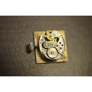 [Free Shipping] Watch movement zenith cal 1110 pour pices for parts ladies working