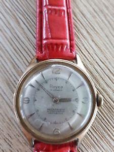 腕時計, 男女兼用腕時計  watch montre 17 jewels 70s vintage retro royce incabloc