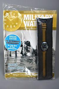 腕時計, 男女兼用腕時計  ramp;l mag sealed eaglemoss military watches 21 french naval navy divers 1980s