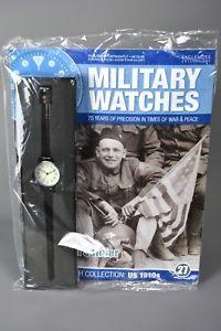 腕時計, 男女兼用腕時計  ramp;l mag sealed eaglemoss military watches 27 american soldier 1910s usa
