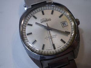 【送料無料】腕時計 ウォッチビンテージスイスリッパレアテンポデータarsa unitas orologio vintage 70s automatico swiss made tempo data da riparare