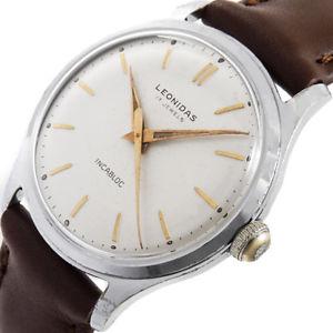 腕時計, 男女兼用腕時計  heuer leonidas 1950s handaufzug as1430 vintage luxus swiss tag herren uhr