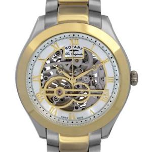 腕時計, 男女兼用腕時計  rotary gb9051510 les originales swiss mens jura automatic watch rrp 675