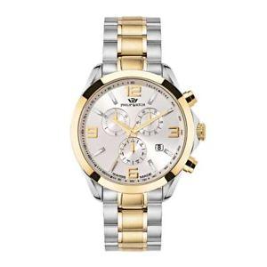 腕時計, 男女兼用腕時計  orologio philip watch blaze r8273665002 uomo cronografo watch swiss bicolore oro
