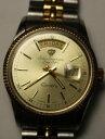 【送料無料】腕時計 ウォッチトーンジュールローマtwo tone jules jurgenson wristwatch 730t day date roman numerals