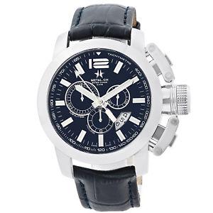 腕時計, 男女兼用腕時計  metalch chronometrie chrono series mens chronograph swiss made watch 2153 47mm