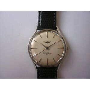[Free Shipping] Watch Watch Steel Caliber seltene longines flagship stahl automatic