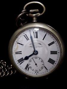 【送料無料】腕時計 ウォッチクロノメータイニシアチブorologio da tasca taschino cipolla chronometre initiative antimagnetique raro