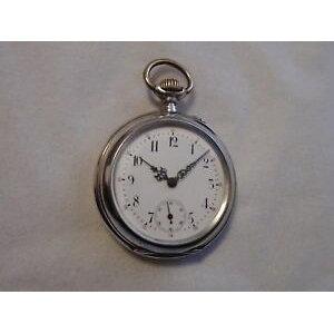 【Free Shipping】 Wrist Watch Watch Men's Silver Pocket Watch Caliber ligiwc herren silber taschenuhr kaliber lep cal 52 iwc 19lig bj 1889 rar