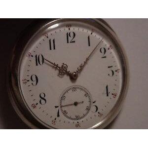 【मुफ़्त शिपिंग ist कलाई घड़ी घड़ी पुरुषों की सिल्वर पॉकेट घड़ी कैलिबर ligiwc हेरेन सिल्बर taschenuhr kaliber लेप कैल 57 americaine 19lig bj 1897
