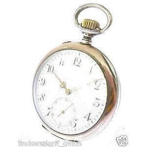 【送料無料】腕時計 ウォッチポケットウォッチfrhe iwc silber lepine taschenuhr um 1900