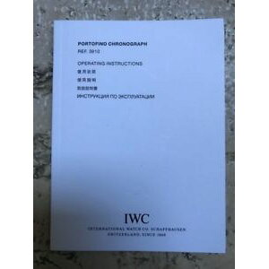 【Free Shipping】 Watch Watch International Portofino Chrono Boo iwc international watch co portofino chrono ref 3910 operating instructions boo