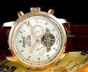 【送料無料】腕時計 ウォッチメンズコレクションkローズゴールドingersoll mens okies collection 18k rose gold ip automatic luxury watch