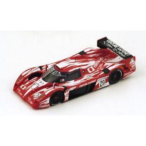 【送料無料】模型車 モデルカー スポーツカートヨタグアテマラリタイアモデルtoyota ts20 gt one n29 dnf lm 1998 boutsenkellenerslees 143 models various画像