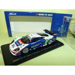 【送料無料】模型車 モデルカー スポーツカーサリーンルマンスパークen s7r 50 le mans 2010 spark s2572 143 arrival 13me 1er cat