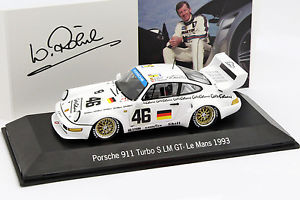 車・バイク, レーシングカー  porsche 911 turbo s lm gt 46 24h lemans 1993 rhrl, pice, haywood 143 spark