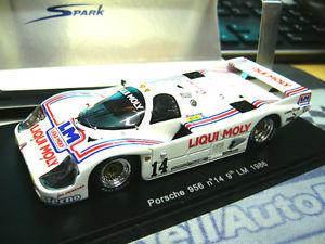 【送料無料】模型車 モデルカー スポーツカーポルシェサイズキバナノギョウジャニンニクルマンバルディダイソン#スパークporsche 956 l size c liqui moly le mans 1986 baldi dyson 14 spark resin 143
