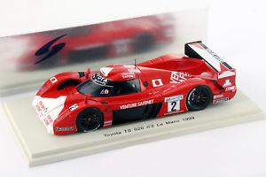 【送料無料】模型車 モデルカー スポーツカートヨタグアテマラ#ルマンマクニッシュtoyota ts 020 gt one 2 24h lemans 1999 boutsenkellenersmcnish 143 spark画像