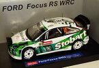 【送料無料】模型車 モデルカー スポーツカーフォードフォーカスストバートウェールズラリーマシューウィルソン118 ford focus wrc stobart wales rally gb 2007 matthew wilson