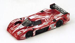 【送料無料】模型車 モデルカー スポーツカートヨタグアテマラリタイアスパークtoyota ts20 gt one n29 dnf lm 1998 boutsenkellenerslees 143 spark s2387 fa画像