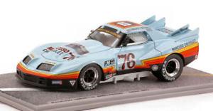 【送料無料】模型車 モデルカー スポーツカーコルベットグリーンウッド#モデルmancuso corvette greenwood 76 imsa 1977 143 bizarre bz132 model