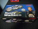 【送料無料】模型車モデルカースポーツカーウォレス#ミラーライトハーレーダビッドソンフォードトーラススケールrusty wallace 2 2001 miller lite harley davidson ford taurus124 scale