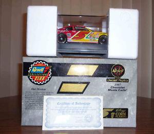 【送料無料】模型車 モデルカー スポーツカーケロッグキーブラコーンフレークシボレーモンテカルロブランドkelloggs corn flakes 1997 revell chevy monte carlo brand