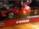 【送料無料】模型車 モデルカー スポーツカーフェラーリキミライコネンホットホイールズ1 18 ferrari f2008 kimi raikkonen hot wheels 2008