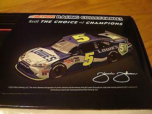 【送料無料】模型車 モデルカー スポーツカー#ジミージョンソンレースrare 2011 5 jimmie johnson lowes 5 all star race still sealed 124 1941