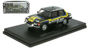 【送料無料】模型車 モデルカー スポーツカーサーブラリースウェーデンラリースケールtrofeu saab 99 ems rally winner sweden rally 1977 stig blomqvist 143 scale