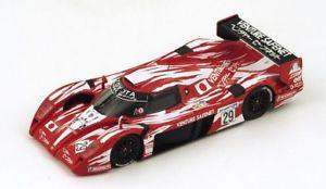 【送料無料】模型車 モデルカー スポーツカースパークモデルトヨタグアテマラリタイアjm 2141270 spark model s2387 toyota ts20 gt one n29 dnf lm 1998 boutsenkelle画像