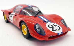 【送料無料】模型車 モデルカー スポーツカースケールフェラーリディノ#ルマンモデルカーcmr 118 scale 040 ferrari dino 206s 25 24h le mans 1966 red resin model car