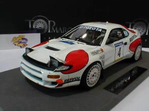 【送料無料】模型車 モデルカー スポーツカートップマルケストップトヨタセリカラリースペインカルロスサインツ#top marques top34gtoyota celica wrc rally spain 1992 034;carlos sainz034; 118