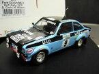 【送料無料】模型車 モデルカー スポーツカーフォードエスコートラリークラーク#ford escort mkii rs1800 rac rally gb 1978 clark lilo 9 trofeu 143