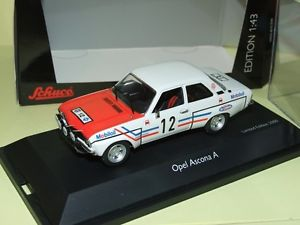 車・バイク, レーシングカー  opel ascona a rally rac 1972 greder racing schuco