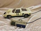 【送料無料】模型車 モデルカー スポーツカーガマポルシェカレラリモートステアリングgama, porsche carrera 10, 112, big remote steering car from the 70er years, rare