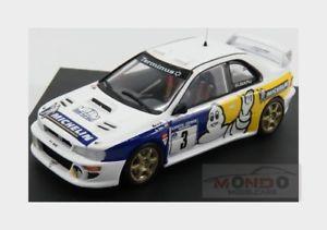 【送料無料】模型車 モデルカー スポーツカースバルimpreza wrcミシュラン3 2ndチューリップ1998bdeジョングtrofeu 143 tr1131subaru impreza wrc michelin 3 2nd rally tulip 1998 bde jong trof