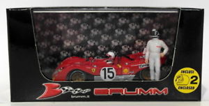 【送料無料】模型車 モデルカー スポーツカーモデルスケールフェラーリキロ#モンツァbrumm models 143 scale r259ch ferrari 312 pb 1000km 15 monza 1971