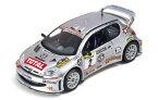 【送料無料】模型車 モデルカー スポーツカープジョー#モデルネットワークモデルpeugeot 206 wrc 2 2002 143 model ixo model