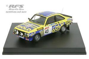 車・バイク, レーシングカー  ford escort rs 2000 rally finland 1979juha kankkunen 143 trofeu 1807