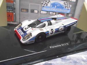 車・バイク, レーシングカー  porsche 917 k martini racing sebring 1971 3 elford larrousse autoart 143