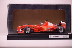 車・バイク, レーシングカー  f1 ferrari f12000 r barrichello hotwheels 118 in box